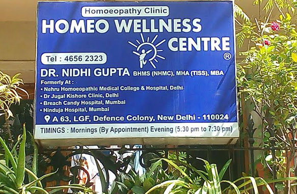 Best Homeopathy Clinic in South Delhi